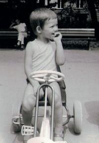 Daddy´s erstes Auto (ca. 4 Jahre jung)